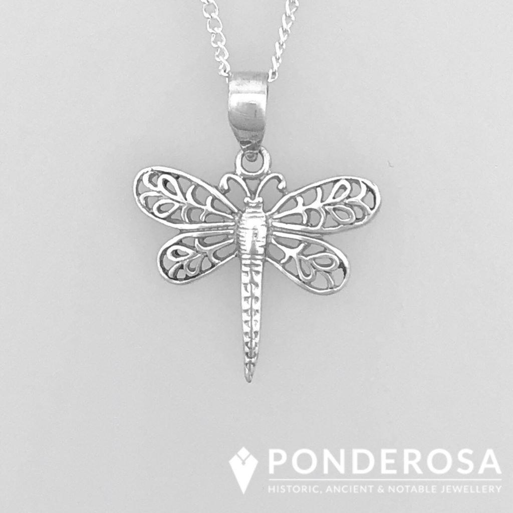 Sterling Silver – Dragon Fly Pendant