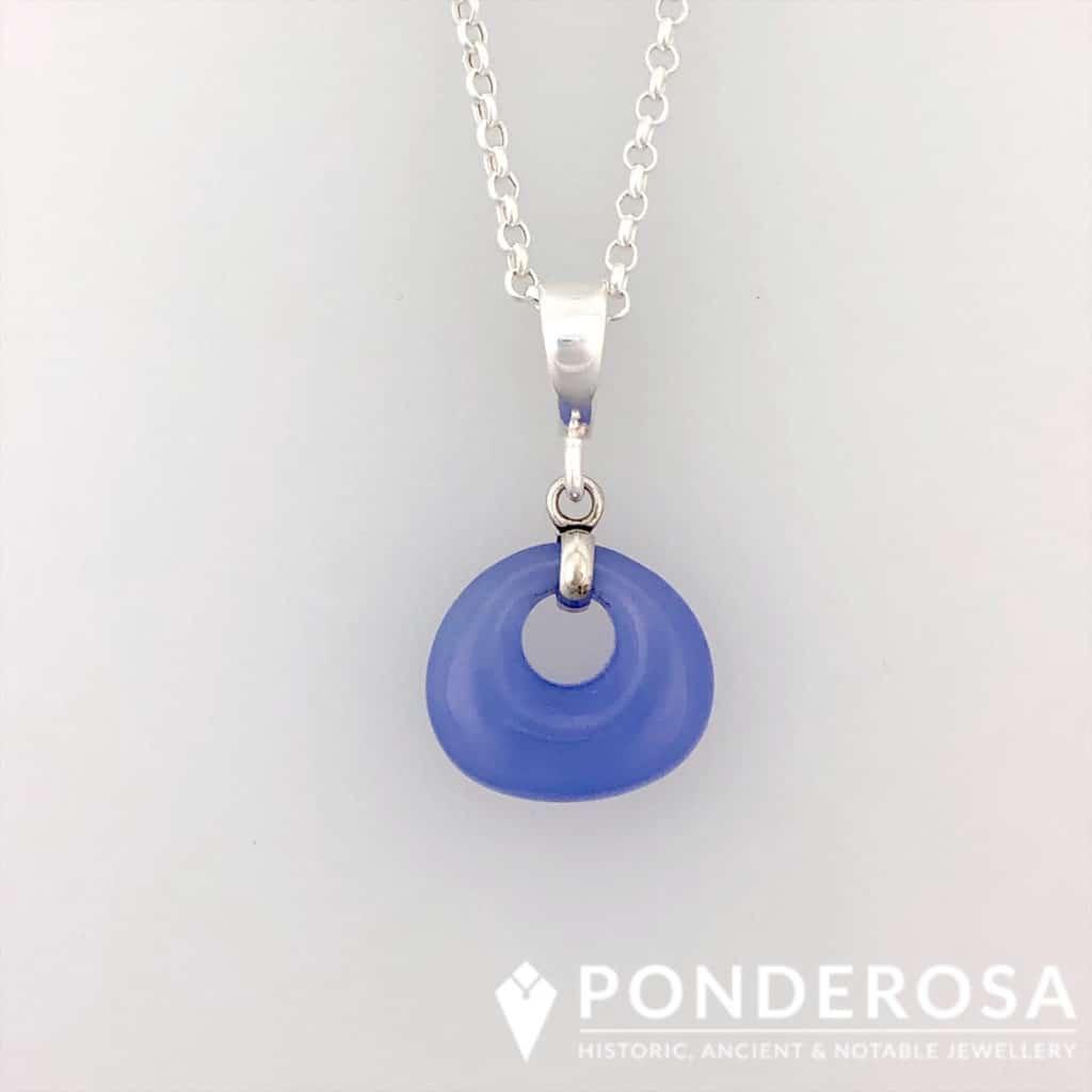 Lavender Jade Stone Pendant