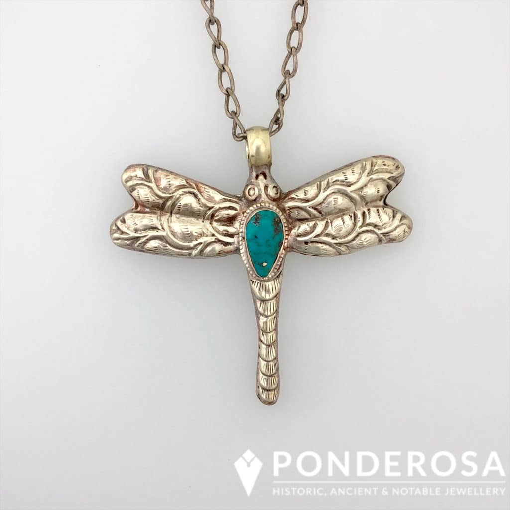 Dragonfly Pendant – Tibet