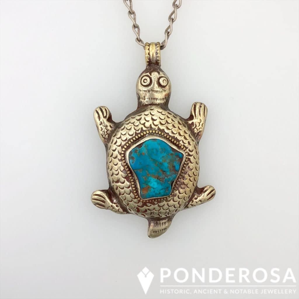 Turtle Pendant – Tibet