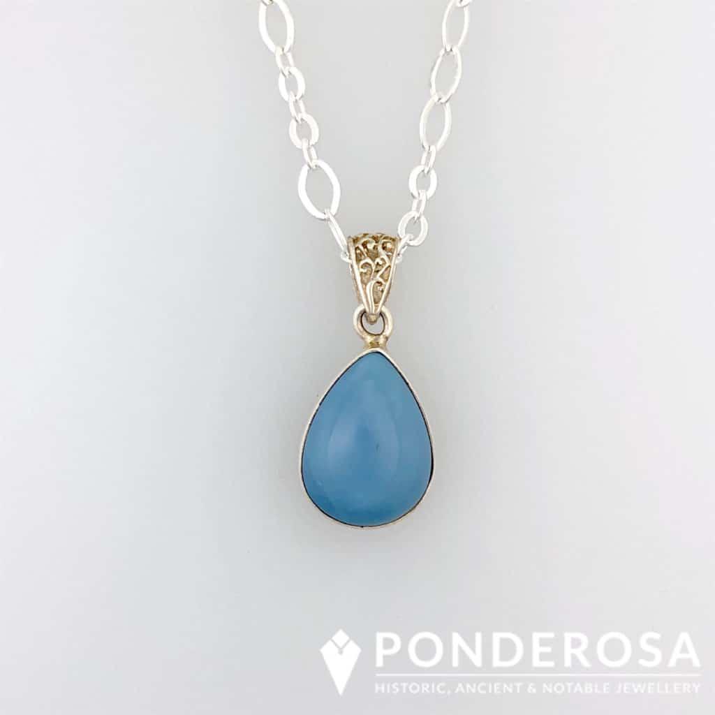 Blue Lace Agate Stone
