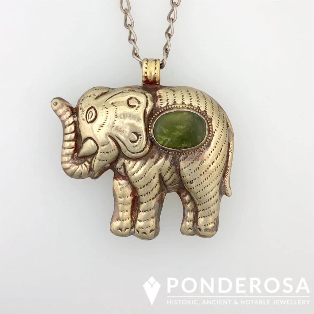 Tibetan Elephant – Jade Stone